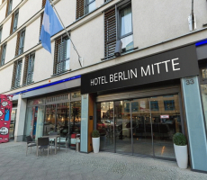 Bilder från hotellet Innside by Melia Berlin Mitte (ex Hotel Berlin Mitte managed by Melia Hotels International) - nummer 1 av 18